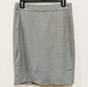 DKNY LIGHT GREY PENCIL SKIRT SZ 4